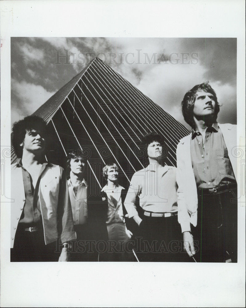 1981 Press Photo Air Supply - Historic Images