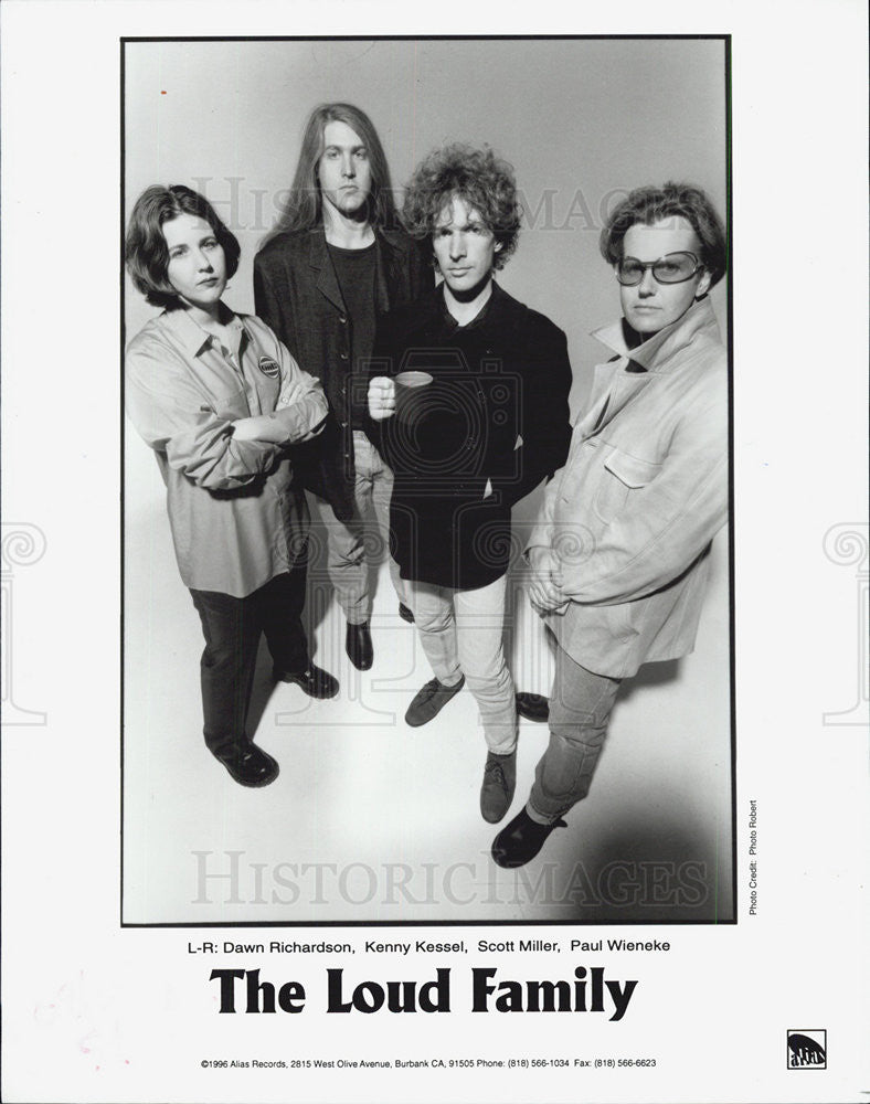 1996 Press Photo The Loud Family - Historic Images