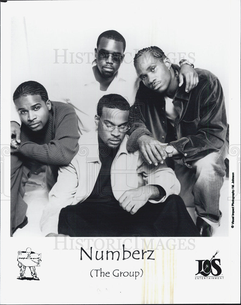 Press Photo Group Numberz Los Entertainment - Historic Images