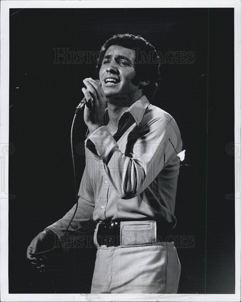 1970 Press Photo Bobby Anderson Singer Muscian Entertainer - Historic Images