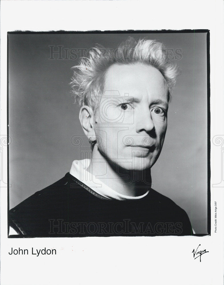 1987 Press Photo John Lydon - Historic Images