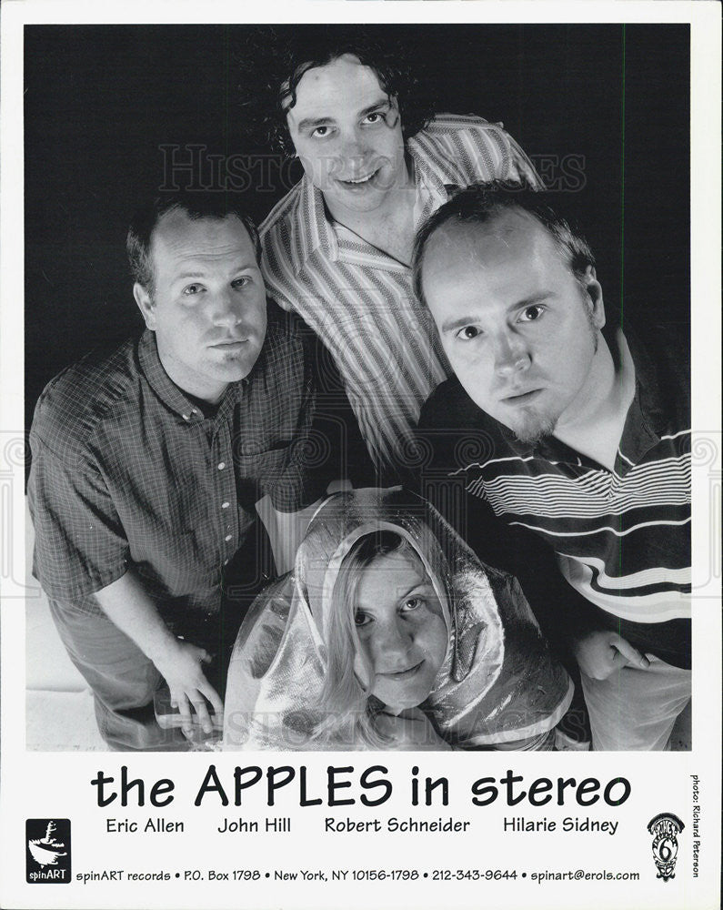 Press Photo The Apples in Stereo - Historic Images