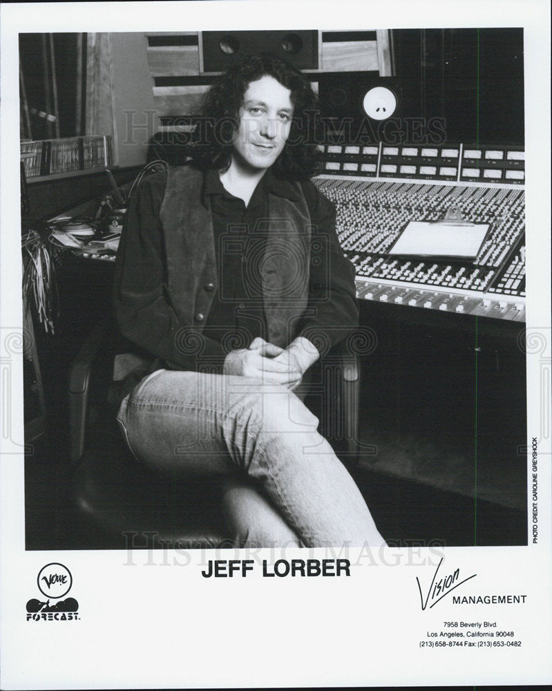 1993 Press Photo Jeff Lorber - Historic Images