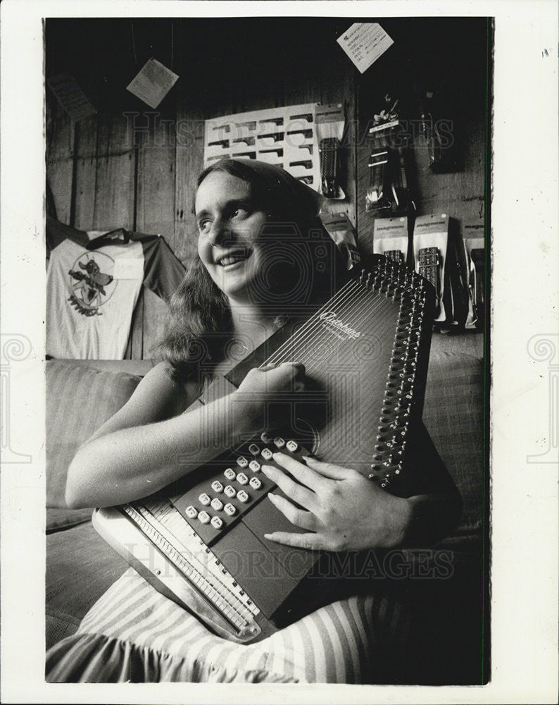 1980 Press Photo Maureen Landau - Historic Images