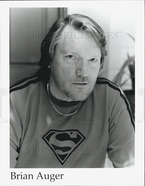 Press Photo Brian Auger - Historic Images