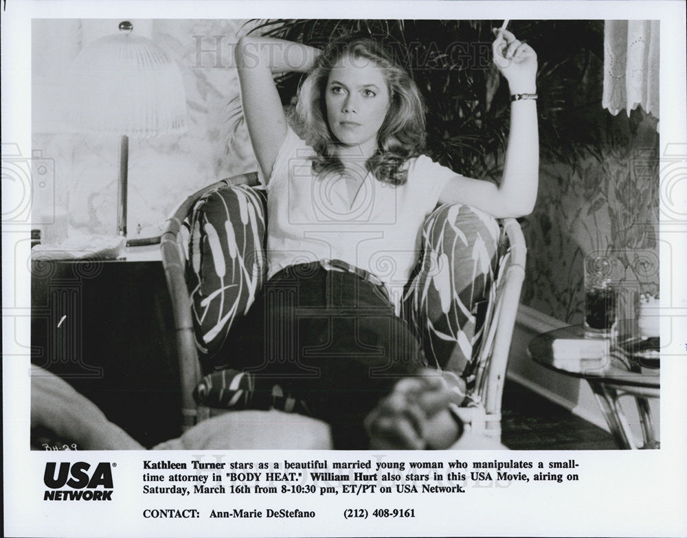 "Press Photo Kathleen Turner in ""Body Heat"" - Historic Images"