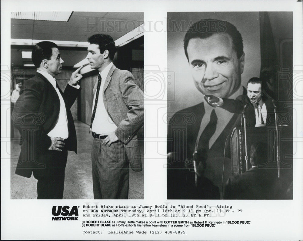 "Press Photo Robert Blake in ""Blood Feud"" - Historic Images"
