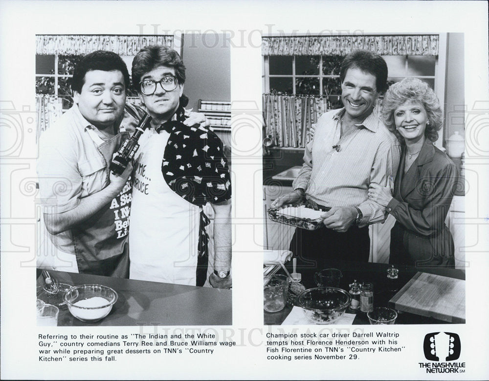 "Press Photo ""Country Kitchen"" - Historic Images"