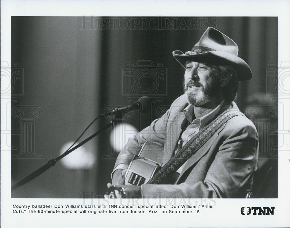 Press Photo Don Williams - Historic Images