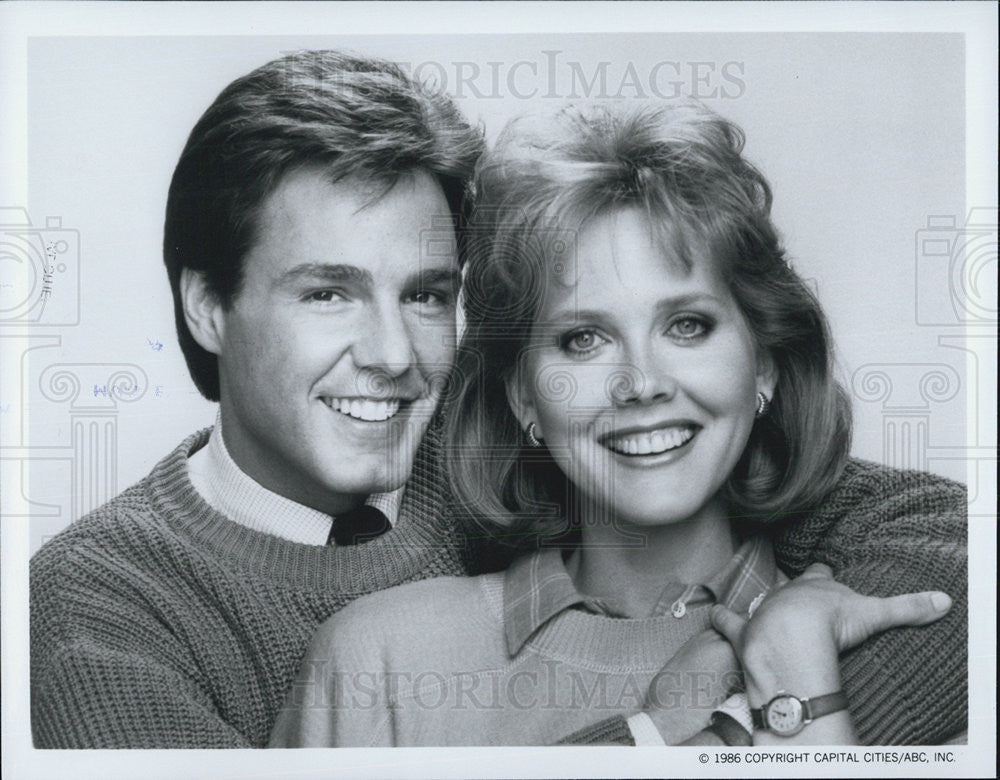 "1986 Press Photo Larry Anderson in ""Life with Lucy"" - Historic Images"