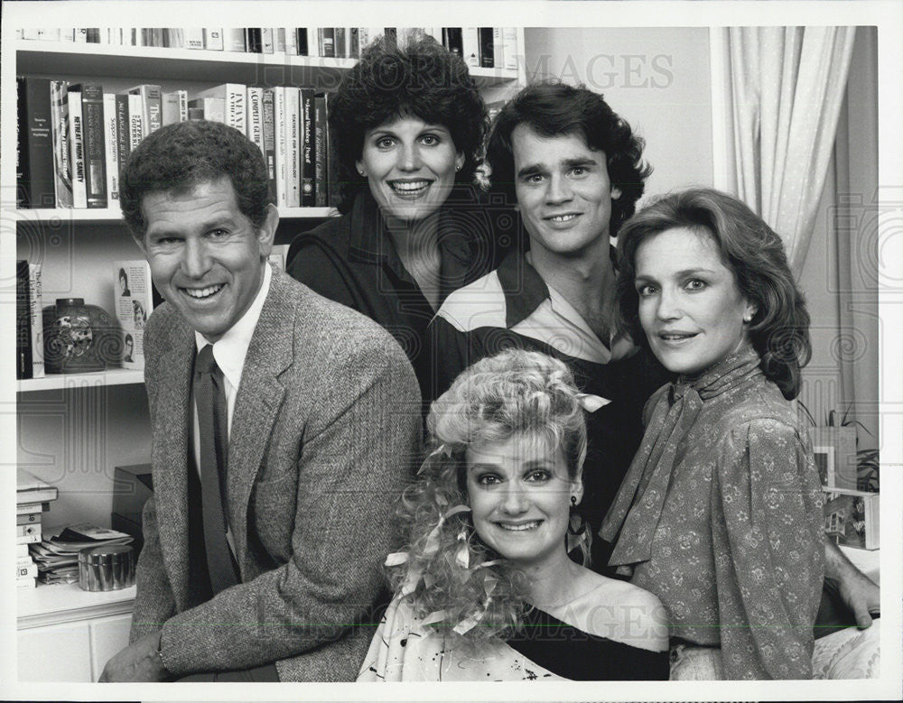 "1985 Press Photo ""The Lucie Arnaz Show"" - Historic Images"
