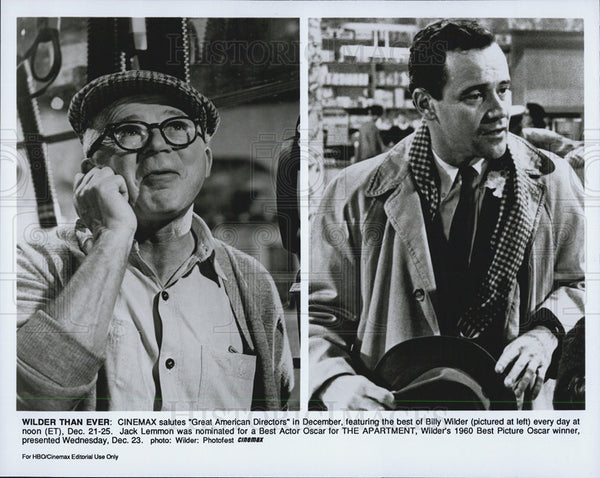 1960 Press Photo Jack Lemmon The Apartment Billy Wilder - Historic Images