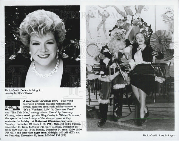"Press Photo ""A Hollywood Christmas Story"" - Historic Images"