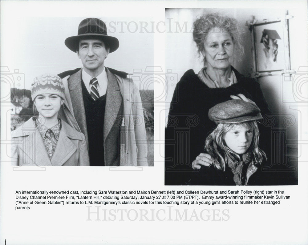 "Press Photo Sam Waterston in ""Lantern Hill"" - Historic Images"