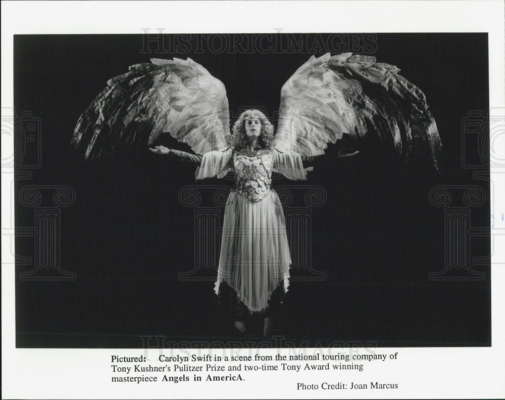 Press Photo Carolyn Swift Angels in America Tony Award - Historic Images
