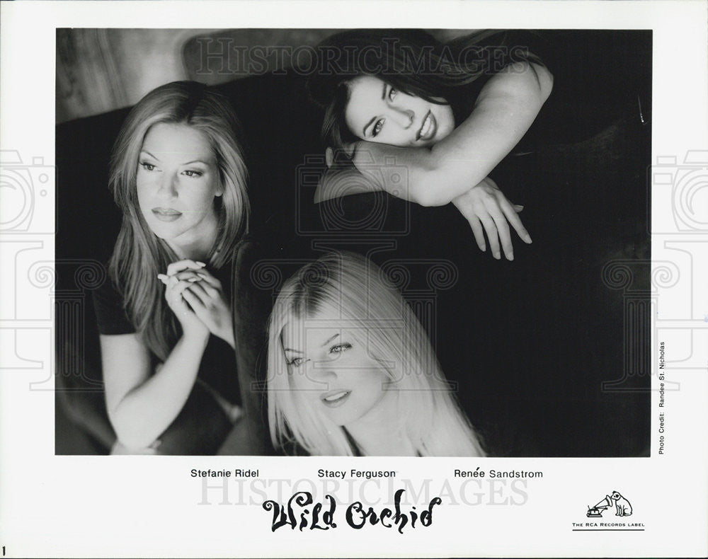 Press Photo Wild Orchid Stefanie Ridel Stacy Ferguson Renee Sandstrom - Historic Images
