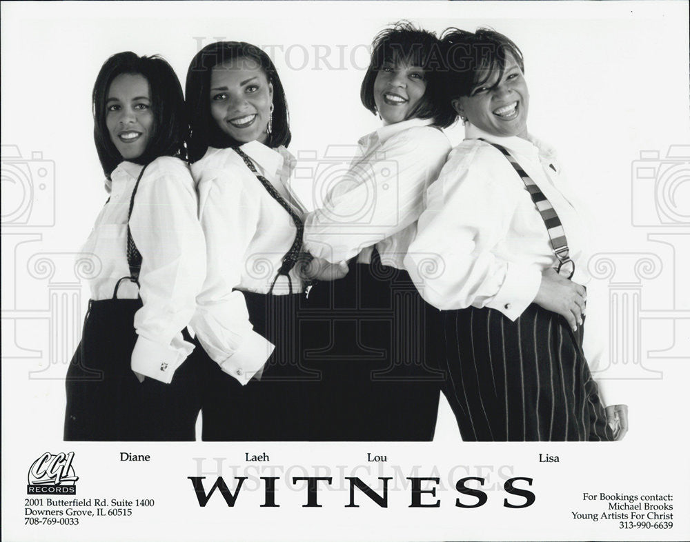 Press Photo Witness Diane Laeh Lou Lisa - Historic Images
