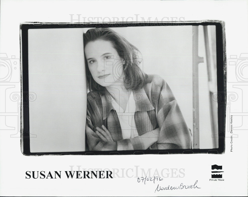 1996 Press Photo Susan Werner - Historic Images