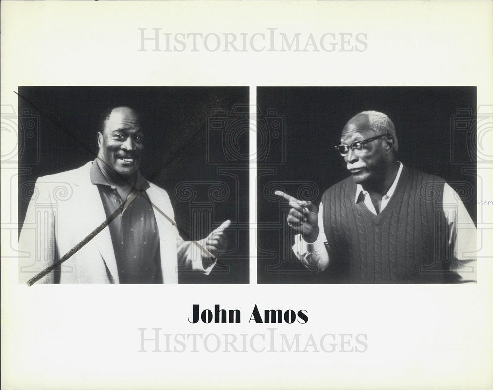"1998 Press Photo John Amos in ""Halley's Comet"" - Historic Images"