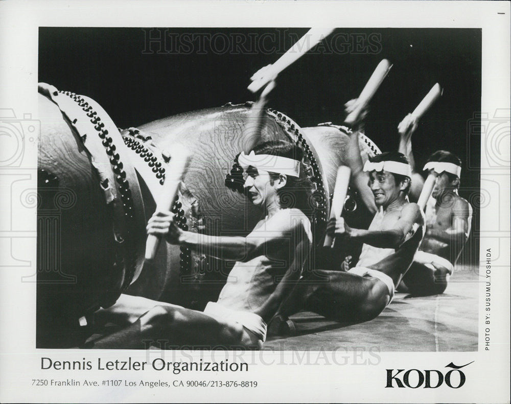 Press Photo Dennis Letzler Organization Kodo - Historic Images