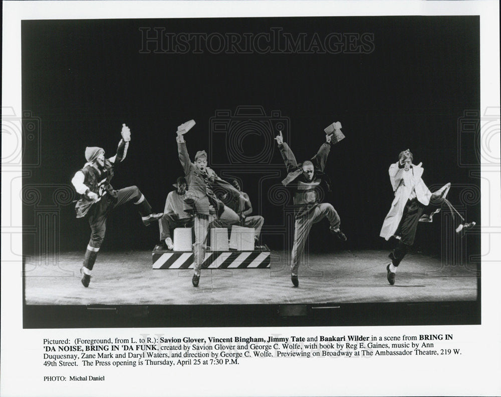 Press Photo BRING IN DA NOISE BRING IN DA FUNK Savion Glover Vincent Bingham - Historic Images