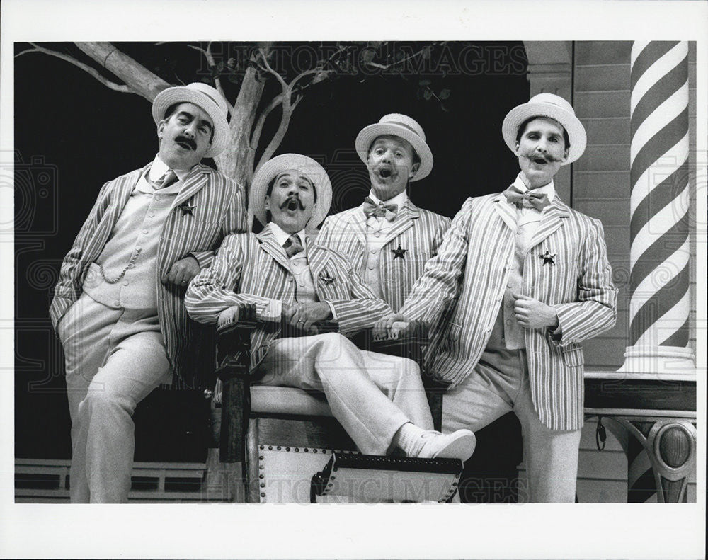 "1996 Press Photo Scene From ""The Music Man"" - Historic Images"