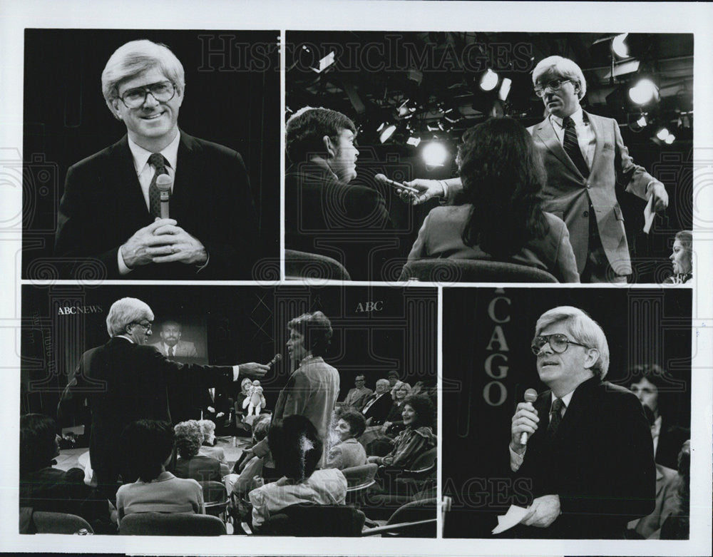 "1982 Press Photo Phil Donahue ""The Last Word"" - Historic Images"