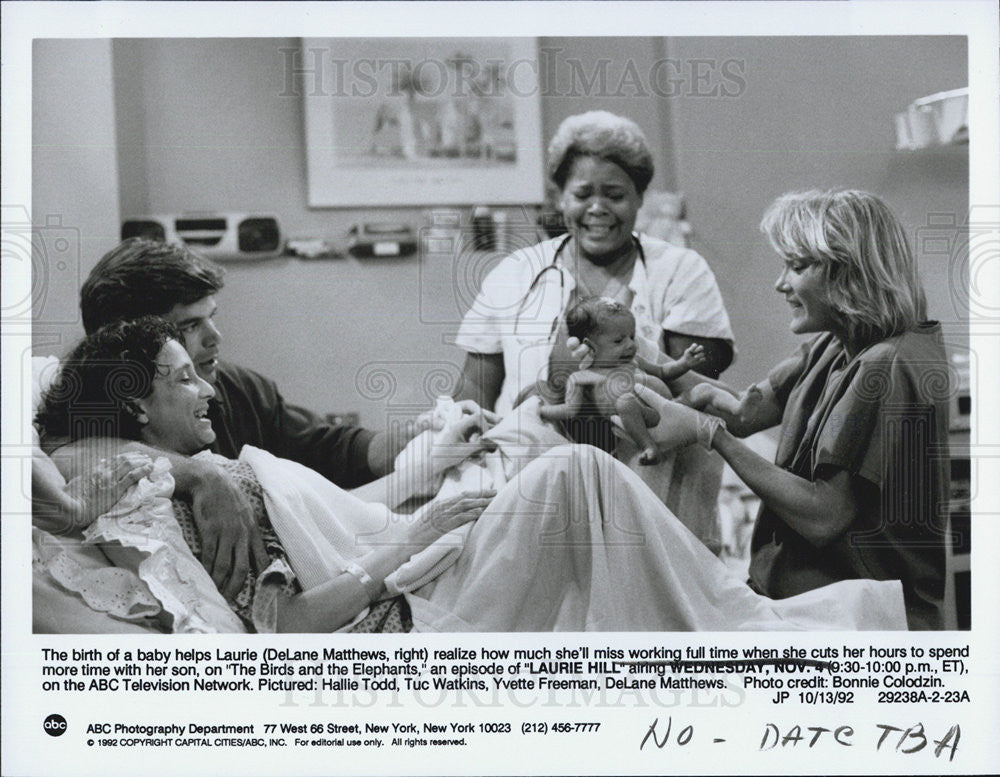 1992 Press Photo DeLane Matthews Hallie Todd Tuc Watkins LAURIE HILL - Historic Images
