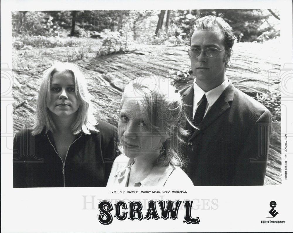 Press Photo Scrawl musicians Sue Harshe Marcy Mays Dana MArshall - Historic Images