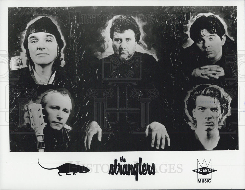 Press Photo Musicians Entertainers The Stranglers - Historic Images