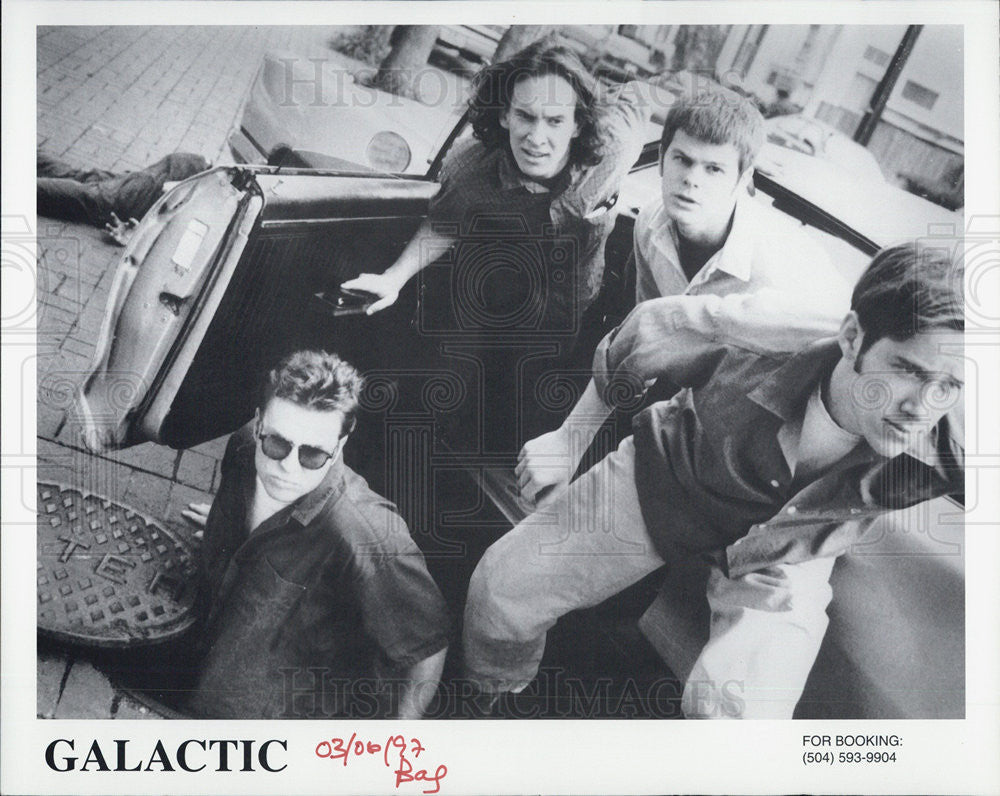 1997 Press Photo Jazz Funk Musical Group Galactic - Historic Images