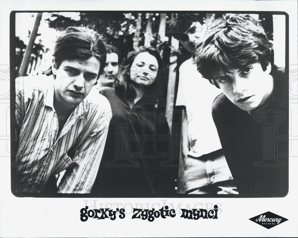 Press Photo Gorkys Zygotic Mynci Musicians Band - Historic Images