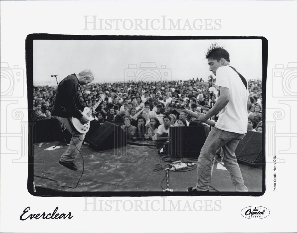 Press Photo Musician band Everclear Recording Artists - Historic Images