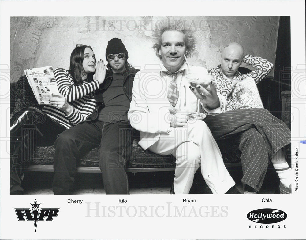 Press Photo NONE Cherry Kilo Brynn Chia Flipp Band - Historic Images