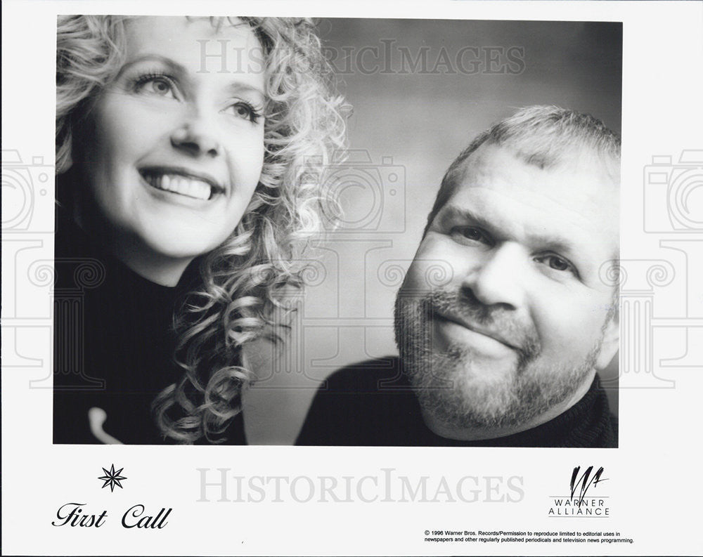 1996 Press Photo First Call Christian Music Group Warner Alliance Records - Historic Images