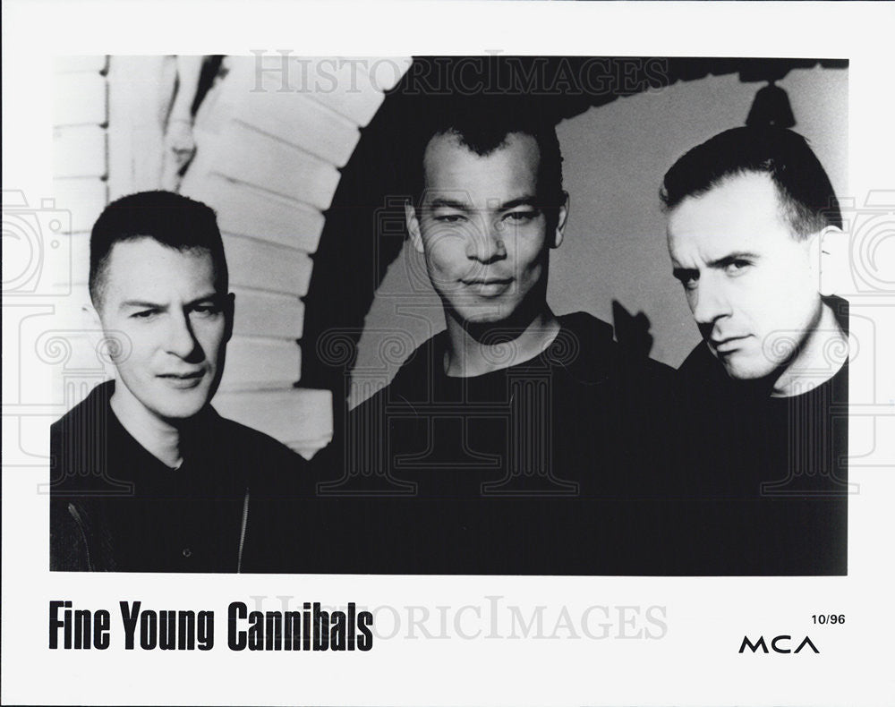 1996 Press Photo Fine young Cannibals Musician Singer - Historic Images