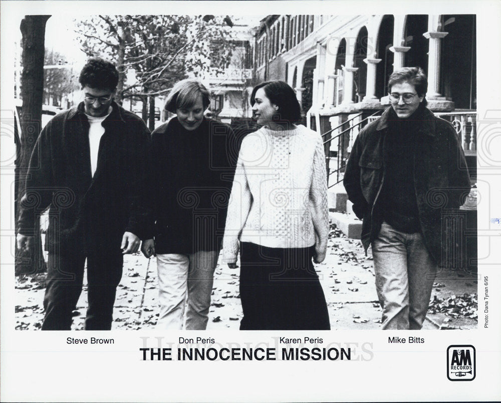 1995 Press Photo The Innocence Mission Steve Brown Don Peris KAren Peris Mike - Historic Images
