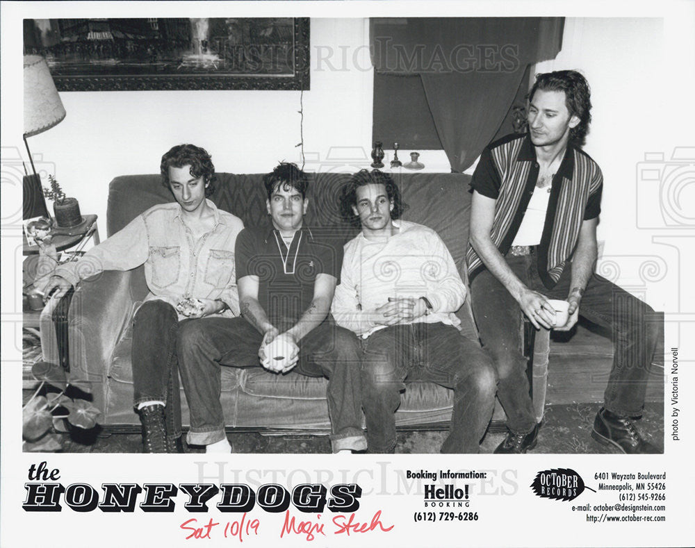 Press Photo The Honeydogs - Historic Images