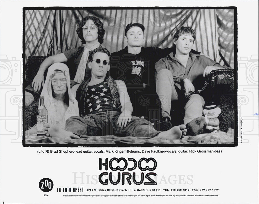 Press Photo Hoodco Guruz - Historic Images
