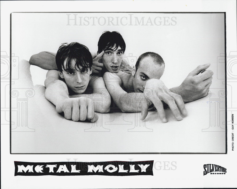 Press Photo Metal Molly - Historic Images