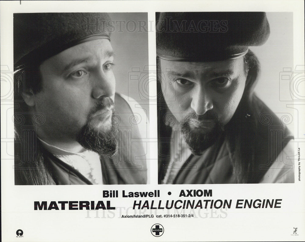Press Photo Bill LAswell Aziom Material Hallucination Engine - Historic Images