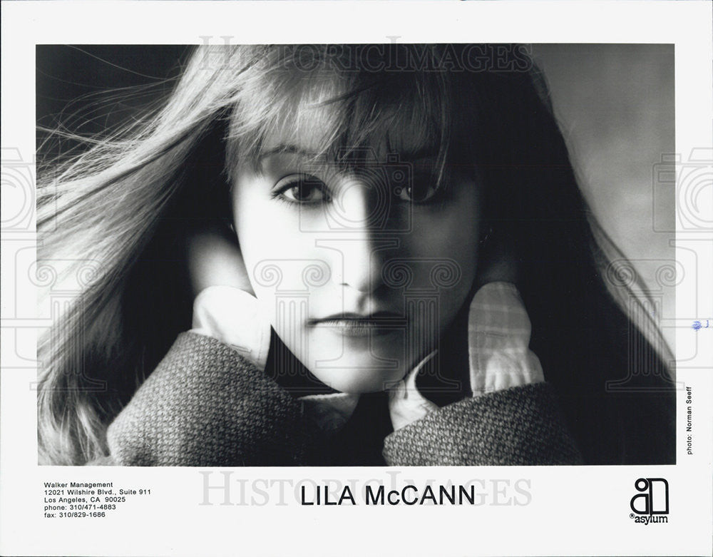 Press Photo Lila McCann Musician - Historic Images