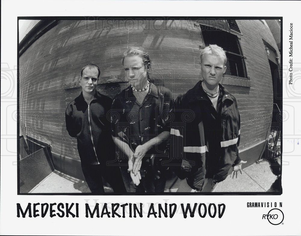 Press Photo Medeski Martin And Wood Musical Group - Historic Images