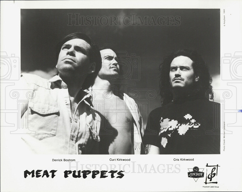 Press Photo Meat Puppets - Historic Images