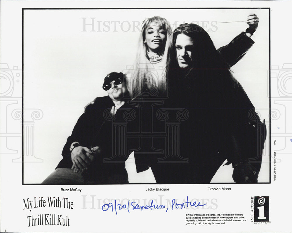 Press Photo My Life with the Thrill Kill Kult - Historic Images