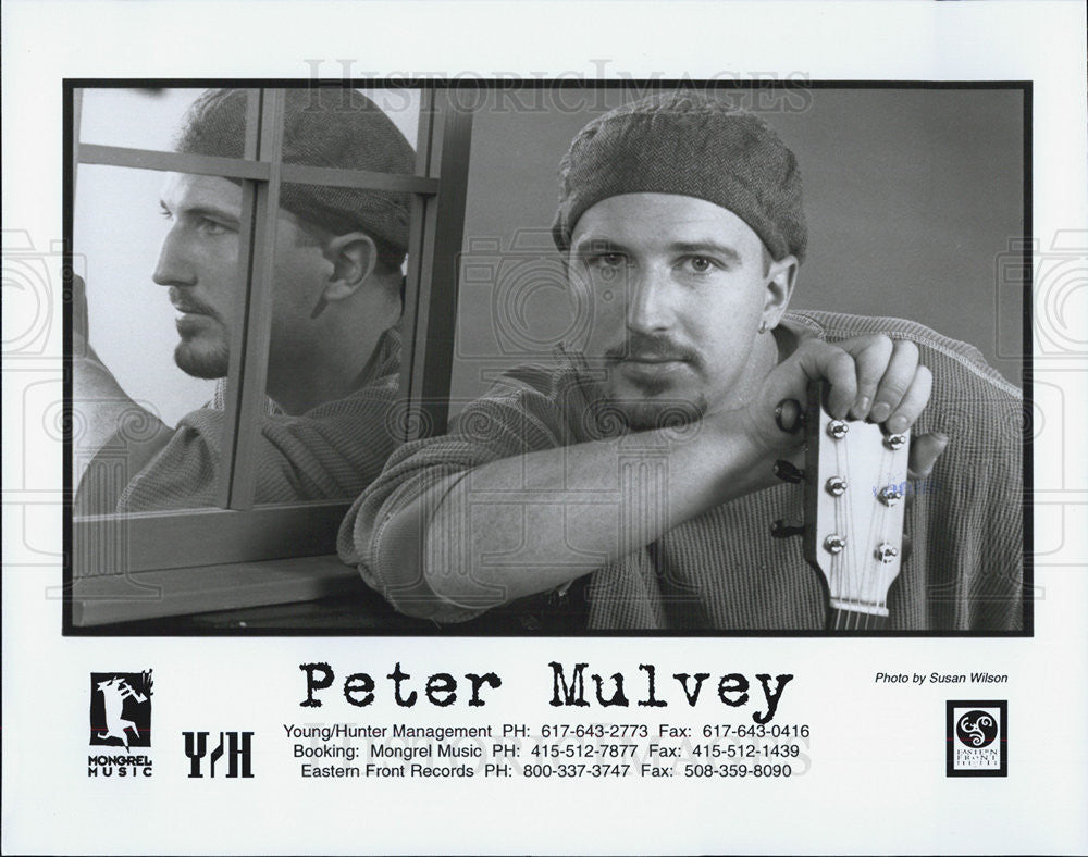 Press Photo Peter Mulvey Musician - Historic Images