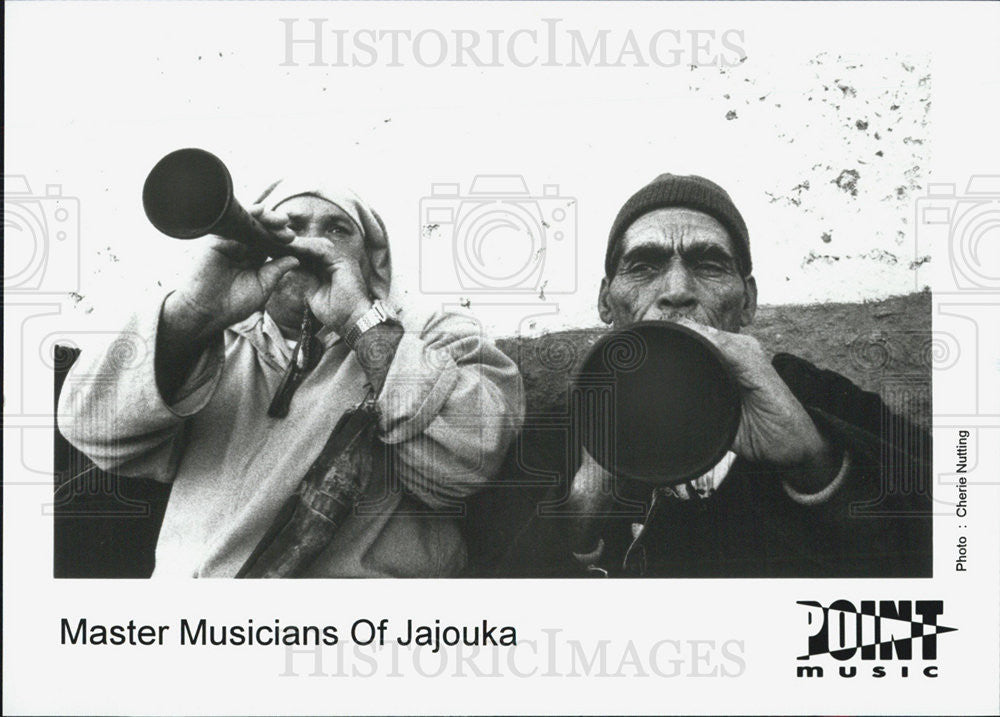 Press Photo Masters Musicians of Jajouka - Historic Images