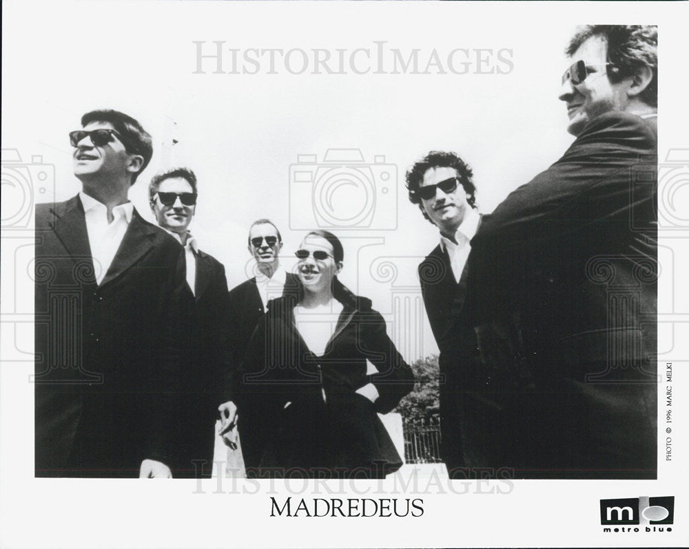 1996 Press Photo Madredeus Band - Historic Images