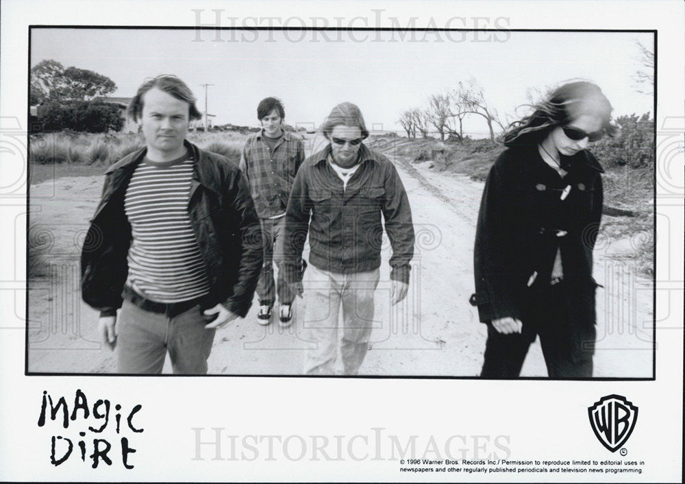 1996 Press Photo Magic Dirt Musical Group - Historic Images