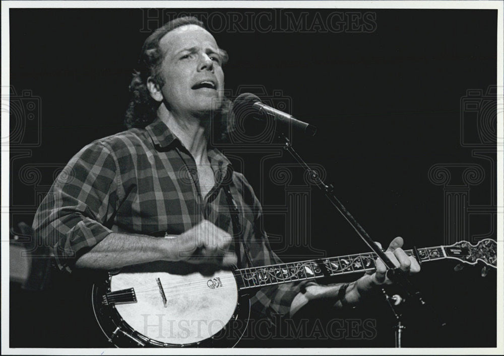 Press Photo John McCutcheon Musician - Historic Images